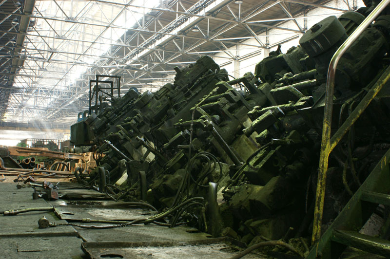 Непрерывный стан ТПА 30-102 - The continuous mill. The pipe rolling plant 30-102.
