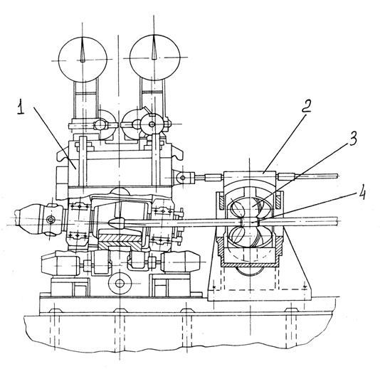 Схема оборудования для обкатки
